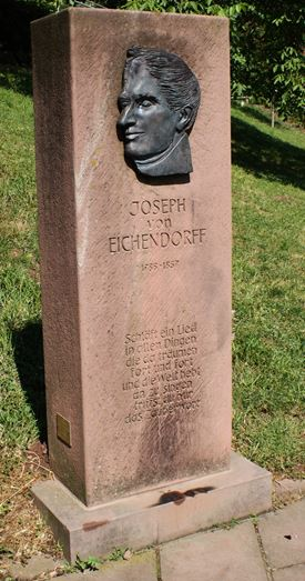 Monument över Eichendorff. Foto: Hampus Östh Gustafsson