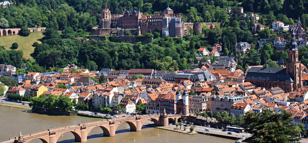 Heidelberg från philosophenweg. Foto: Hampus Östh Gustafsson