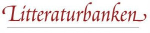 Litteraturbanken logga