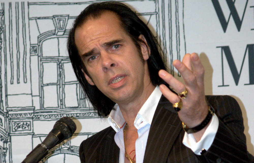 Nick cave 2009. Foto: David Shunkbone.