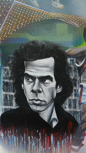 Nick Cave, Dimmey's mural, Richmond. Foto: HappyWaldo