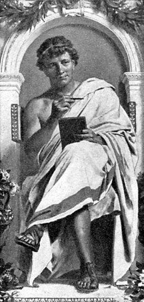Ovidius efter en målning av A. V. Werner.