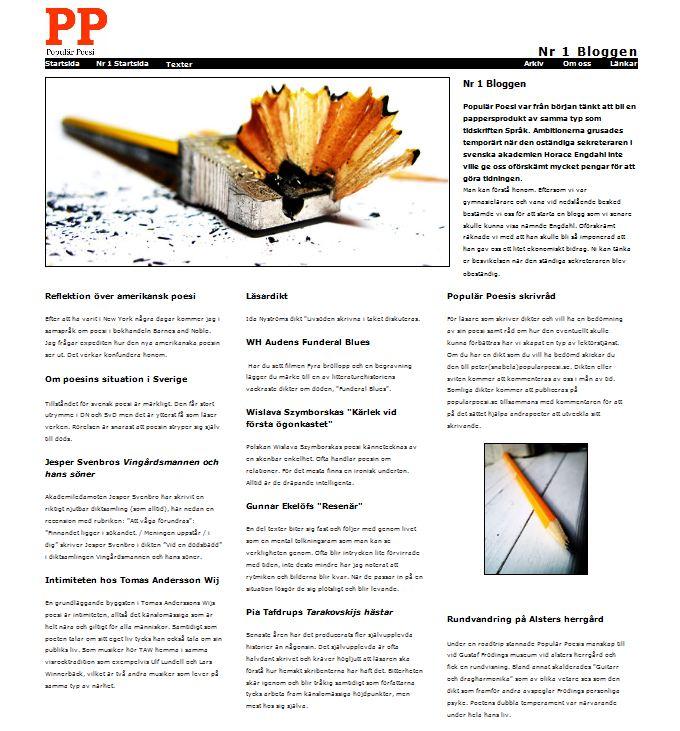 En ny version av nummer 1 lades ut på sidan i juni 2012.