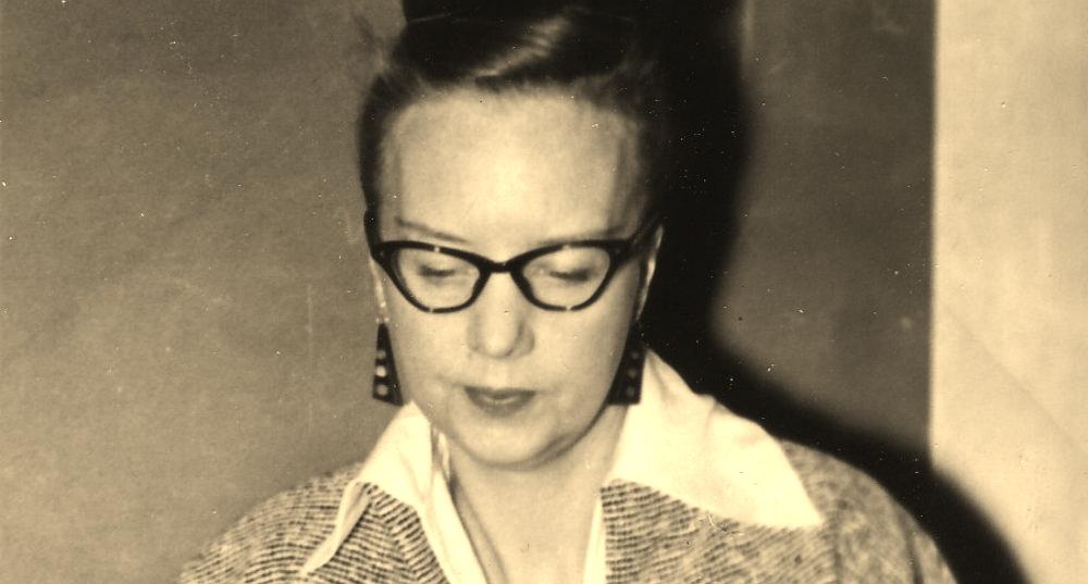 Rut Hillarp 1959. Foto: Lars Kignell