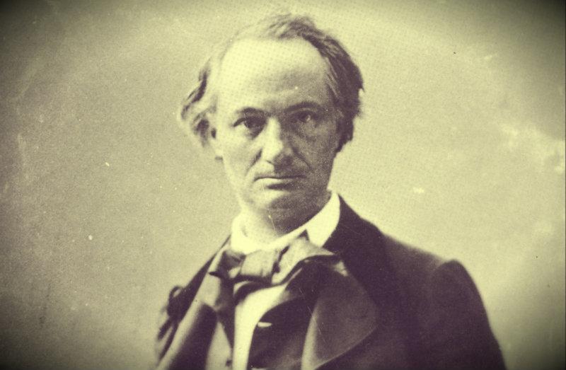 Charles Baudelaire porträtterad av Félix Nadar