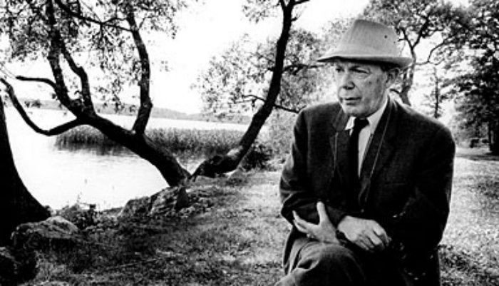 Gunnar Ekelöf 1967. Foto: Pressens bild.