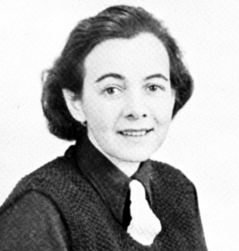 Karin Boye 1940. Bild från Ulf Boyes album.