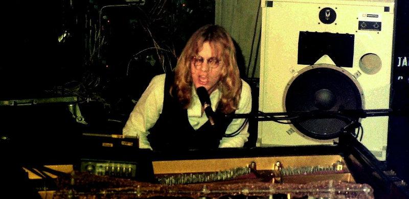 Warren Zevon 1976. Foto: Klaus Hiltscher. CC