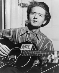 Woody Guthrie. Foto: Library of Congress Prints and Photographs Division Washington
