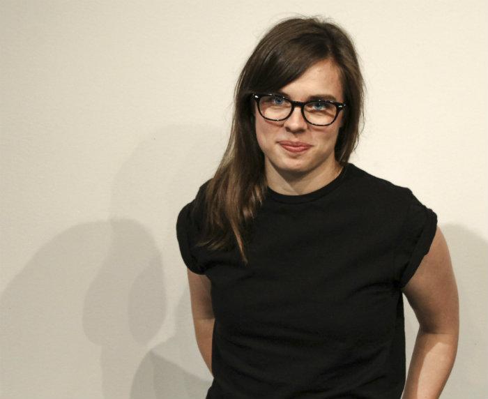 Populär Poesis nya redaktör för musiklyrik Johanna Bengtsson föreläste om vad poesi kan vara.