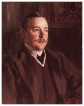 Karlsfeldt målad av Anders Zorn 1906
