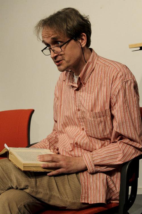 Populär Poesis artikelredaktör Peter Björkman föreläste om Anna Cederlunds korta pietistiskt präglade liv.