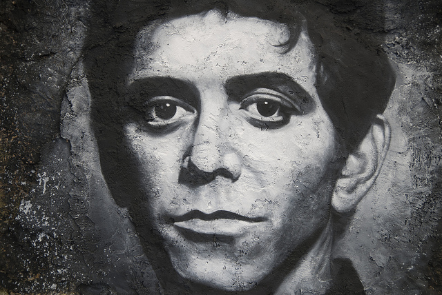 Lou Reed. Foto: Thierry Ehrmann