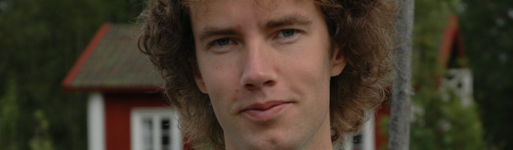 Daniel Svensson. Foto: Florence Oppenheim