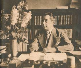 Hjalmar Gullberg i Veckojournalens julnummer 1943