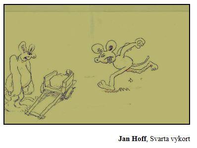 Jan Hoff Svarta vykort