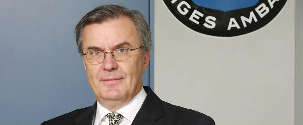 Lars Vargö. Foto: SAAB