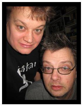 Magnus Grehn och Frank Bergsten. Foto: Privat