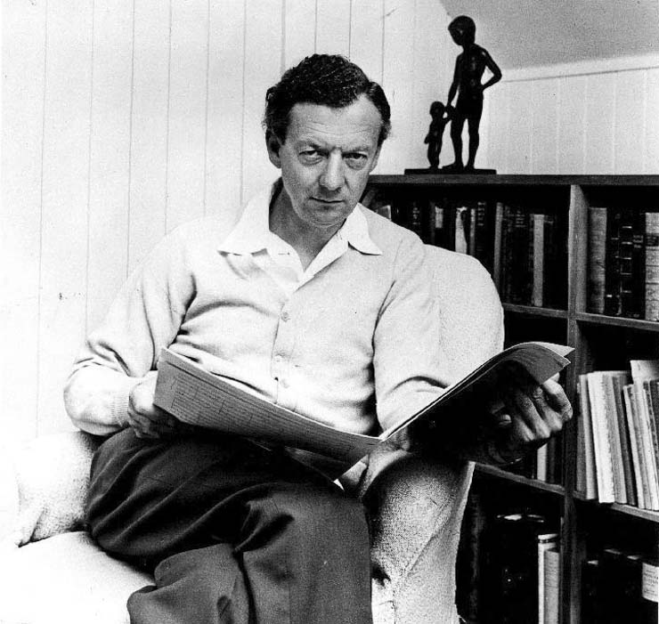 Benjamin Britten 1968. Foto: London Records