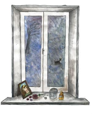 Saknad illustrerad av Linda Ågren