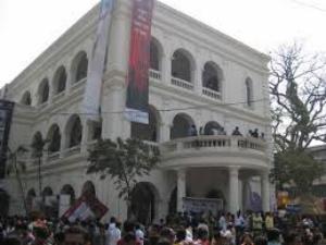 Bangla Academy during book fair