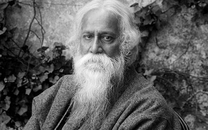 Rabindrath Tagore. Foto: rex features.