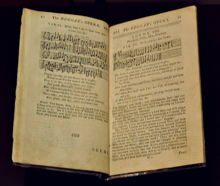 Beggar's_Opera_libretto_with_music_VA