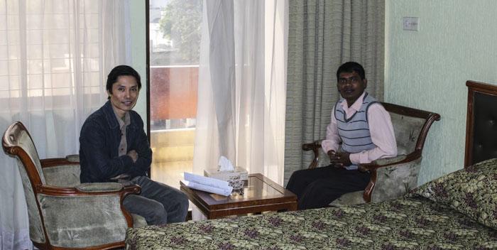 Maung Maung och Shappon Akka.