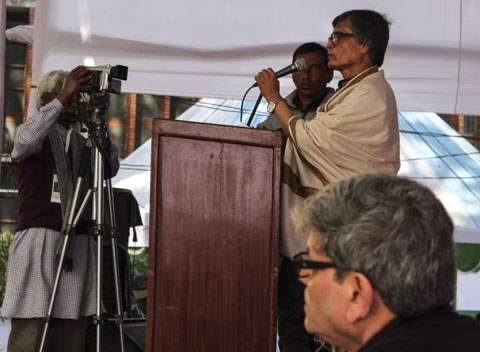 Muhammad Samad inviger Poesifestivalen