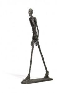 Alberto Giacomettis Gående man