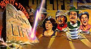 Affisch till The Meaning of Life från 1983.