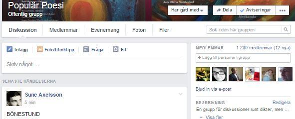 Facebook grupp