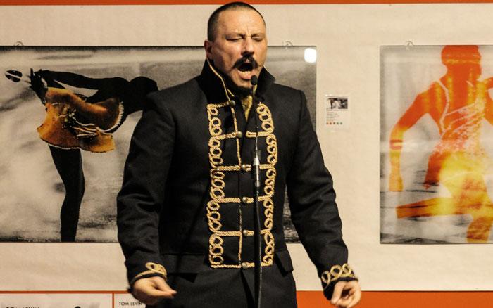 Zurab Rtveliashvili framträdde under årets sista Ordet i Centrum. Foto: Åsa Nyberg,
