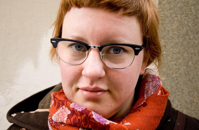 Charlotte Qvandt. Foto: Karl Skagerberg.