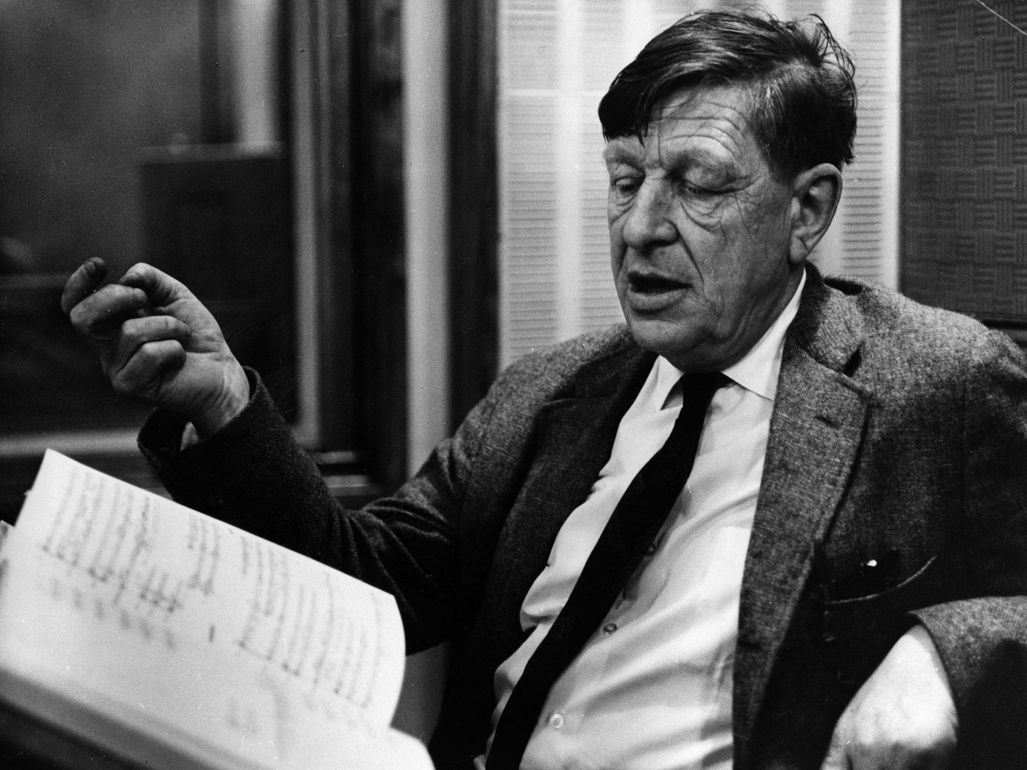 W. H. Auden. Foto: Okänd.