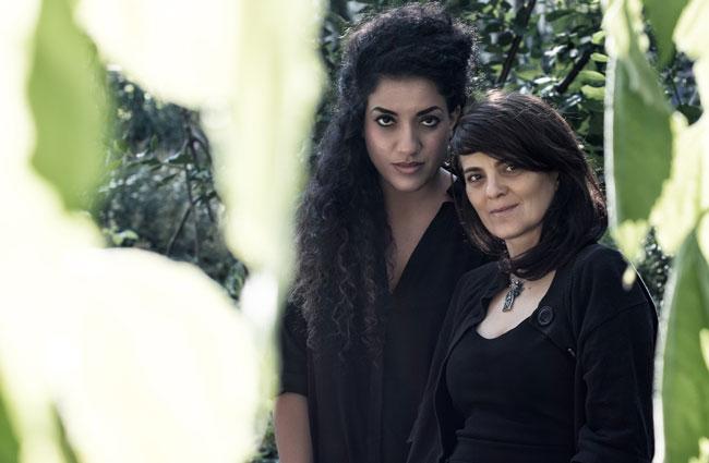 Athena Farrokhzad och Svetlana Cârstean. Foto: Khashayar Naderehvandi