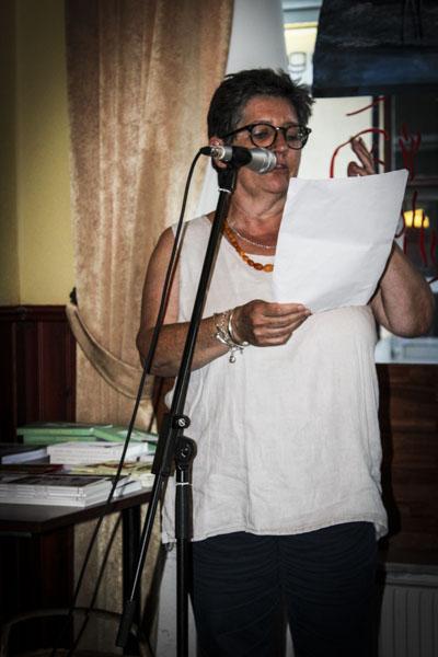 Mel Perry från Wales läste sina dikter. Foto: Åsa Nyberg.