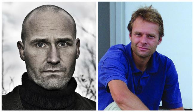 Fredrik Ahlfors & Björn Wickenberg. Foton från Trombone förlag.