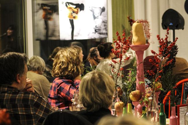 Säsongsavslutningen av Ordet i Centrum blev inte bara konstnärligt en succé utan också publikt fullgången. Foto: Peter Nyberg.
