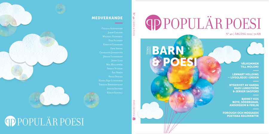 """Nummer 40 """"Barn och poesi"""" kommer ut i slutet av april"""